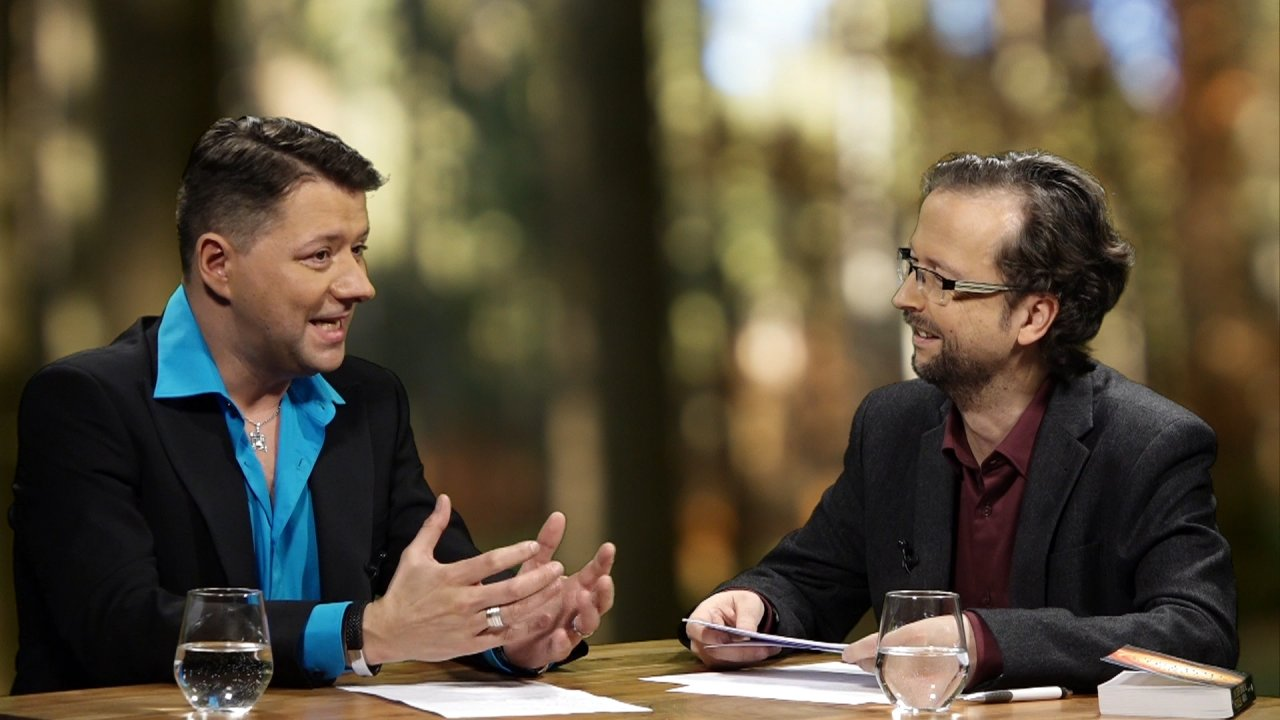Vadim Tschenze im Gespräch mit dem Moderator des Webinars