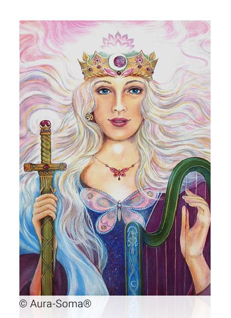 Aura-Soma® Bild: Lady Nada