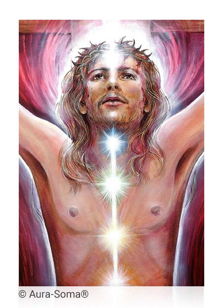 Aura-Soma® Bild: Christus